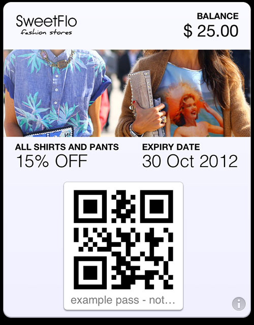 passbook pass fashion
