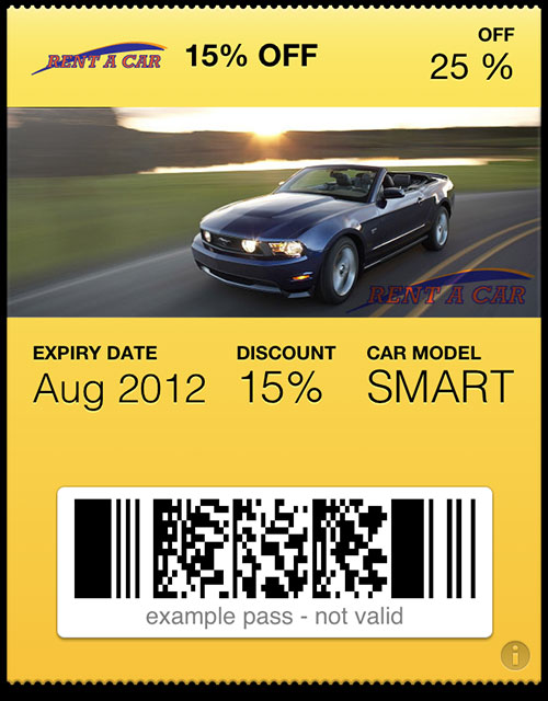 passbook pass rent-a-car